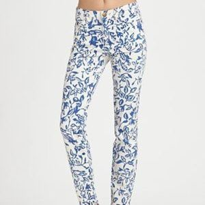 Current Elliot Ltd Edition DVF white skinny jean